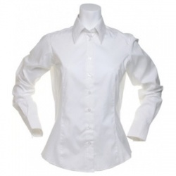 Kustom Kit KK702 Women's Corporate Oxford Shirt Long Sleeve