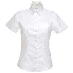 Kustom Kit KK719 Women's Corporate Pocket Oxford Shirt Short Sleeve