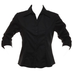 Kustom Kit KK745 Women's Bar Shirt 3/4 Sleeve