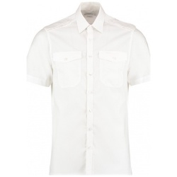 Kustom Kit KK133 Men's Pilot Shirt Short Sleeve
