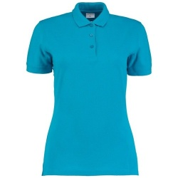 Kustom Kit KK213 Women's Slim Fit Klassic 65% Polyester 35% Cotton 185gsm Polo Shirt