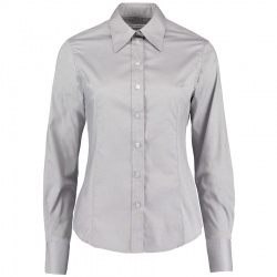 Kustom Kit KK702 Women's Premium Corporate Oxford Shirt Long Sleeve