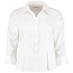 Kustom Kit KK710 Women's Corporate Oxford Shirt 3/4 Sleeve