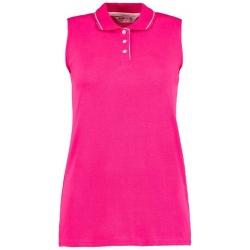 Kustom Kit KK730 100% Cotton Women's Sleeveless Polo Shirt 210gsm