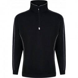 ORN Clothing Crane 1240 Quarter Zip Sweatshirt 65% Polyester / 35% Cotton 320gsm