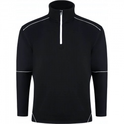 ORN Clothing Fireback 1283 Quarter Zip Sweatshirt 65% Polyester / 35% Cotton 320gsm