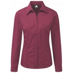 ORN Clothing Edinburgh Ladies Premium Polycotton Long Sleeve Blouse 130gsm