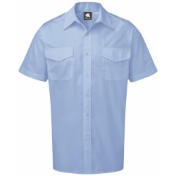 ORN Clothing The Essential Short Sleeve Pilot Shirt 105gsm