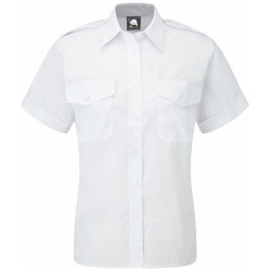 ORN Clothing The Classic Short Sleeve Pilot Blouse 115gsm