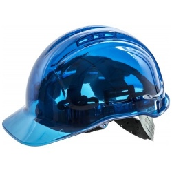 Portwest PV54 Peak View Translucent Non Vented Safety Hard Hat Helmet