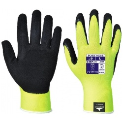 Portwest A340 Hi Vis Grip Glove - Latex Foam