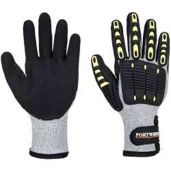 Portwest A729 Anti Impact Cut Resistant Thermal Glove - Nitrile