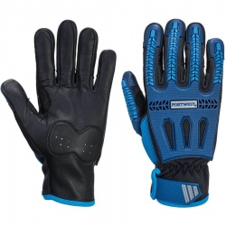 Anti Impact Cut Resistant Gloves Nitrile Reinforced Quality Glove Portwest A722
