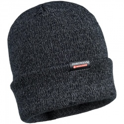 Portwest B026 Reflective Knit Cap, Insulatex Lined