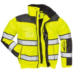Portwest C466 Hi Vis Classic Bomber Jacket 3 in 1