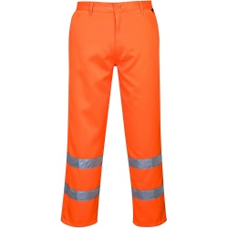 Portwest E041 Hi-Vis Poly-Cotton Trousers