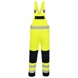 Portwest FR63 Hi Vis Multi Norm Bib and Brace