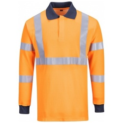 Portwest FR76 Flame Resistant RIS Polo Shirt