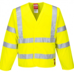 Portwest FR85 Hi-Vis Anti Static Jacket Flame Resistant