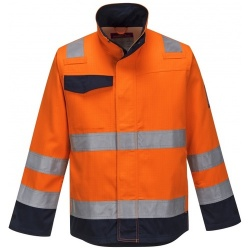 Portwest MV35 MODAFLAME RIS Orange/Navy Jacket