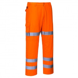 Portwest RT45 Hi Vis Poly-cotton Trousers RIS