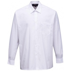 Portwest S103 Mens Classic Shirt Long Sleeve White