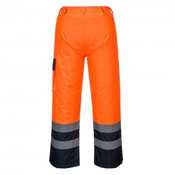 Portwest S686 Hi-Vis Contrast Trousers - Lined