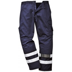 Portwest S917 Iona Safety Combat Hi Vis Trousers