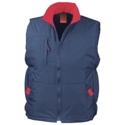 RESULT CLOTHING RIPSTOP GILET R066X 160GSM