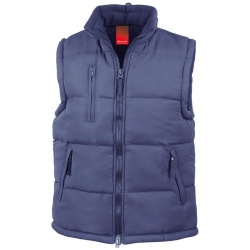 RESULTS CLOTHING ULTRA PADDED BODYWARMER R088X
