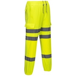 Portwest RT48 Jogging Track Pants Yellow