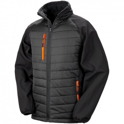 Result Clothing R237X Compass Padded Softshell Jacket