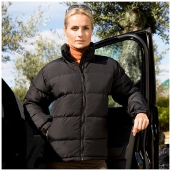 Result Clothing Womens Holkham Down Feel Jacket R181F
