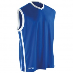 Result Spiro Activewear S278M Basketball Mens Quick Dry Top