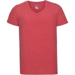 Russell 166M Men's V-neck HD T-shirt