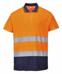 Portwest S174 Two Tone Cotton Comfort Polo Shirt