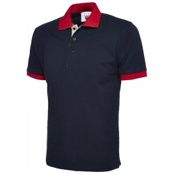 Uneek UC107 Contrast Polo Shirt 250gsm