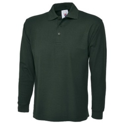 Uneek UC113 Long Sleeve Polo Shirt 220gsm