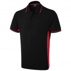 Uneek Clothing UC117 Two Tone Polo Shirt