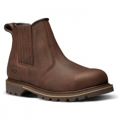 V12 Footwear V1231 Rawhide Brown Dealer Boots