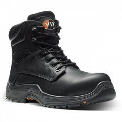 V12 Footwear VR600.01XL Bison IGS Black Metal Free Derby Safety Boot
