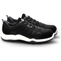V12 Footwear VT151 Active Black / White Safety Trainer