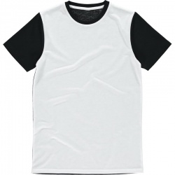 Vanilla VAN103 Men's White Panel Subli® Tee