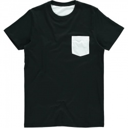 Vanilla VAN105 Men's Subli® Pocket Tee