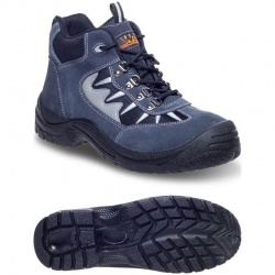 Worksite SS632SM Suede Sports S1P SRC Safety Boot Grey