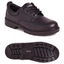 Apache Workwear AP306 Black 4 Eye Safety Shoe