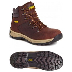 Apache Workwear AP315CM Nubuck Water Resistant Safety Hiker Brown
