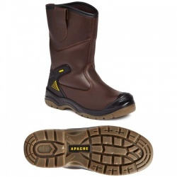 Apache Workwear AP305 Brown Waterproof Rigger Boot