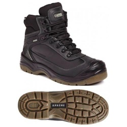 Apache Workwear Ranger Waterproof Safety Hiker Black