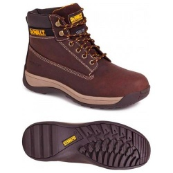 Dewalt Apprentice Nubuck Safety Hiker Boot Brown